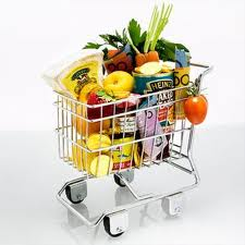 Compare nutritional value of products in your shopping basket
